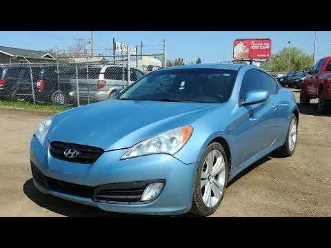 2010 Hyundai Genesis Coupe In Edmonton Ab T5b 4h8 Youtube
