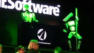 CEBIT 2012 - ROBOT Dance - Tobit Software Robots