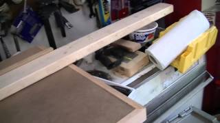 Building Drawers For My Workbench: Part 2 - Cutting The 2x4 Supports