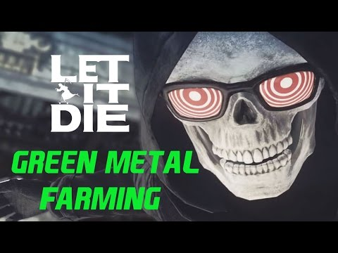 Let it die | Material farming guide | Green metal (all types)