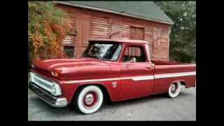 Rat Rod 64' Chevy C10 Truck Bagged Air Ride!