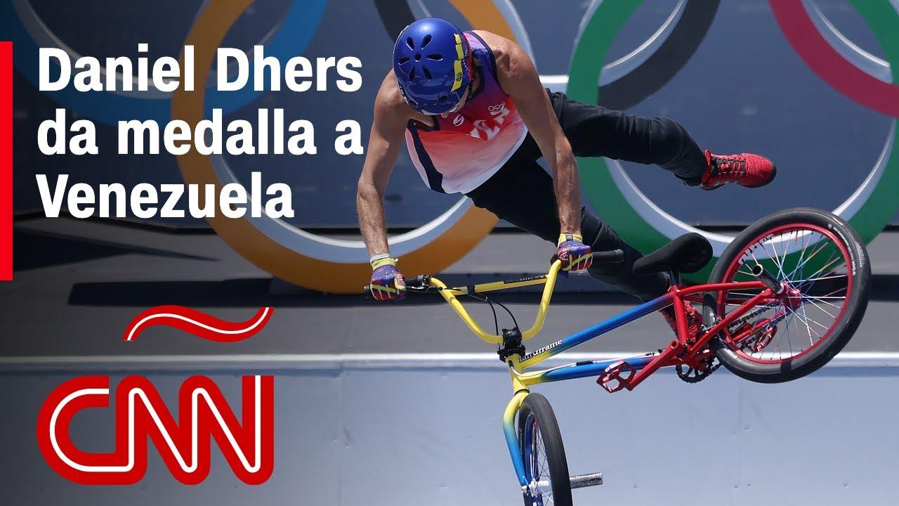 Venezolano medallista de plata en BMX Daniel Dhers nunca creyó que llegaría a unos Juegos Olímpicos
