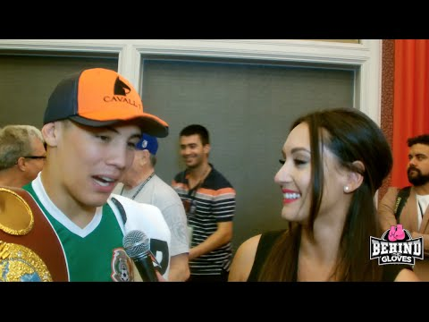 OSCAR VALDEZ TALKS ABOUT WBO WIN, HIS PET ALLIGATOR, AND WHO IS ON HIS RADAR!