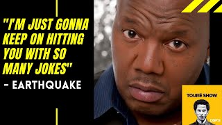 Comedian Earthquake on his time in the  US Airforce