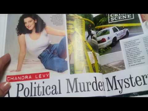 ASMR whisper reading America's most notorious crimes: Chandra Levy