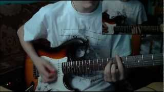 Pink Floyd - Another Brick in the Wall (Part 2)   Guitar Cover + Solo [HQ]