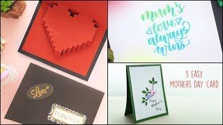 3 Easy Mothers Day Card
