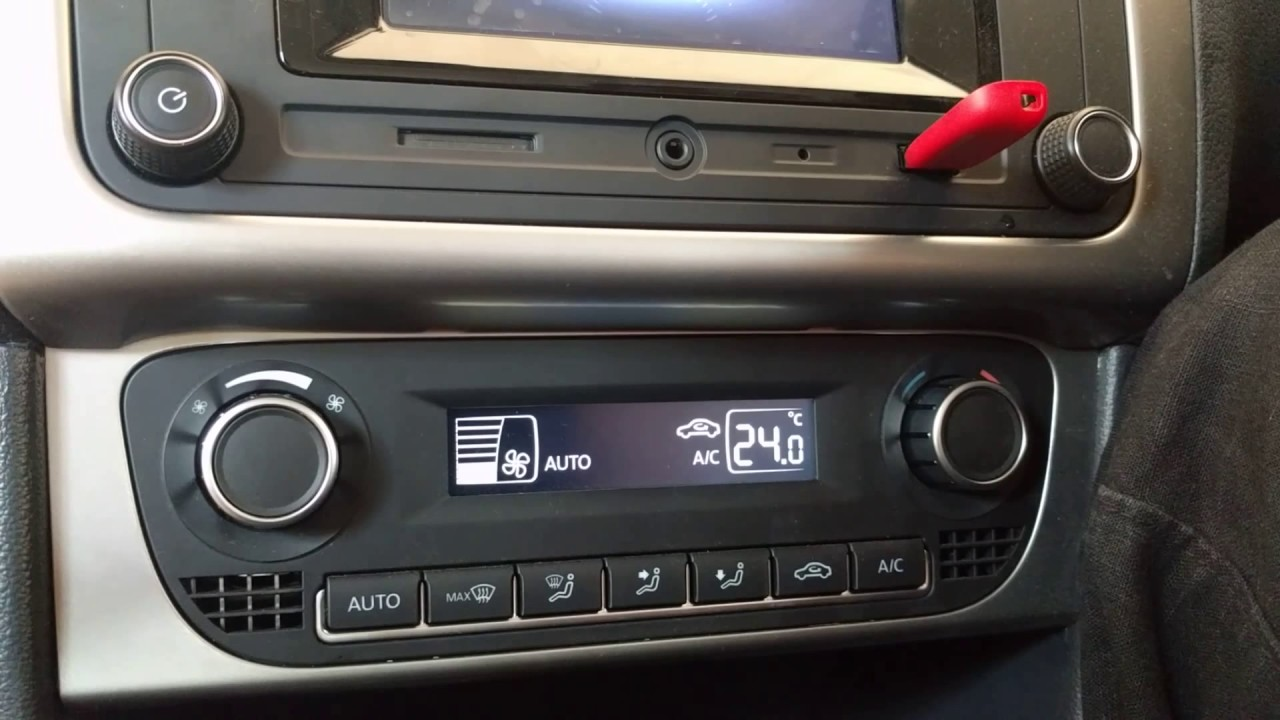 climatronic automatic air conditioner in volkswagen polo. Black Bedroom Furniture Sets. Home Design Ideas