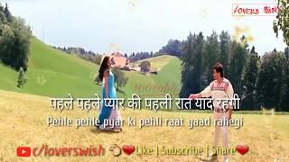 Tere Mere Hoton Pe Meethe Meethe Geet | Whatsapp Status | Chandani Movie |