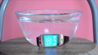 Samsung Gear 2 water test
