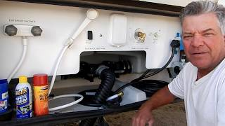 How To Easily Lubricate Your RV Dump Valves