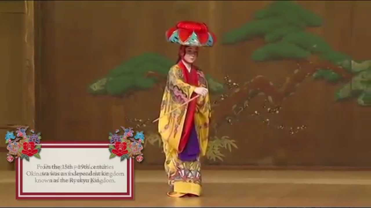 Traditional Dance From Okinawa With Live Music Youtube