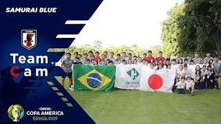 6月12日にブラジル入りした日本代表は、13日から初戦に向けたトレーニングを開始。午前中は宿舎周辺を散歩し身体をほぐし、午後はサンパウロFC...
