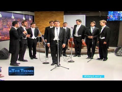 #theTrend: Whiffenpoofs perform a cover of Adele's 'When we were young'