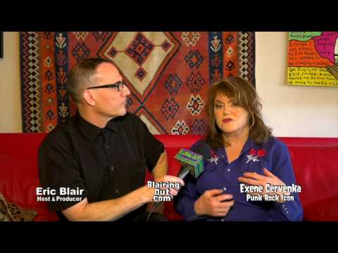 EXENE & ERIC BLAIR Have a random talk  part 1 2017
