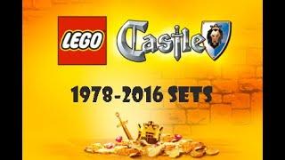 Every LEGO Castle Set Ever Made! (1978-2016)