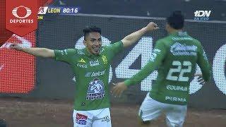 Doblete de Ángel Mena | América 0 - 3 León | Clausura 2019 - J6 | Televisa Deportes