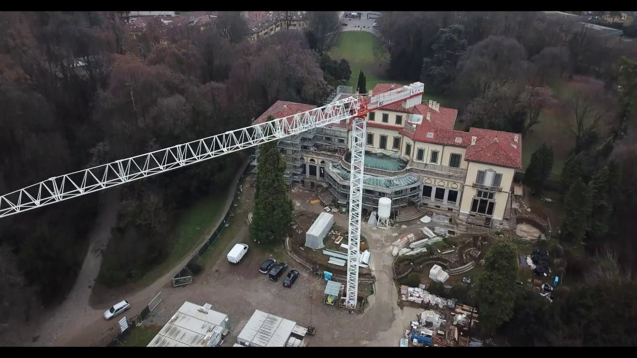 Arcore parco villa borromeo lavori di ristrutturazione e villa