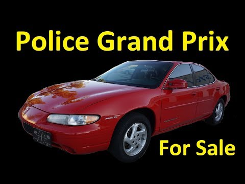 1 OWNER PONTIAC GRAND PRIX GOVERNMENT CAR FOR SALE 63K MI VIDEO REVIEW