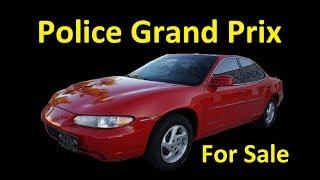 1 OWNER PONTIAC GRAND PRIX GOVERNMENT CAR FOR SALE 63K MI VIDEO REVIEW