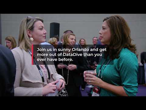The Data Conference Launch Video