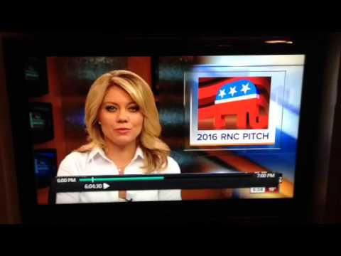 KSHB Jadiann Thompson B-Word Mistake & Kansas City GOP Convention 2016