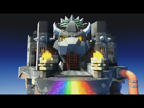 Black Bowser's Castle (Final Level) - Paper Mario: Color Splash Walkthrough