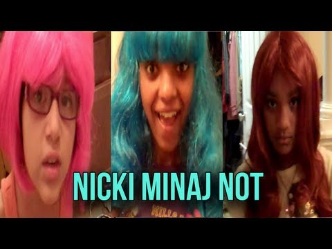 Nicki Minaj Wig Dress Up