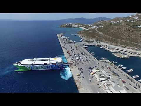 A Little Bit Of Mykonos From The Sky - Mykonos Drone 4K