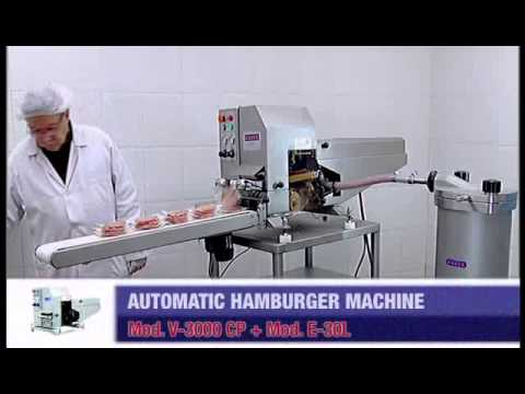 MOD  SUPER BASIC HAMBURGER FORMER   Machinery for the meat processing industry and cured meat manufa