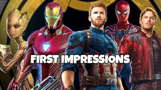 INFINITY WAR UNIFORMS - FIRST IMPRESSIONS | Marvel Future Fight