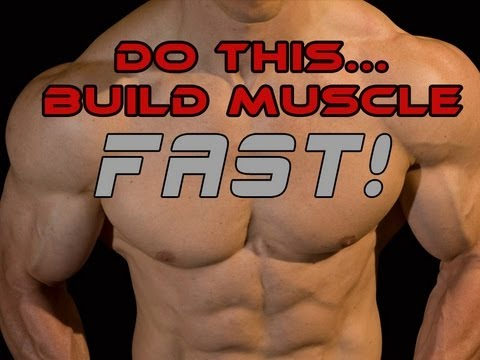 BUILD MUSCLE FAST - My #1 Tip To Start Building Muscle TODAY!