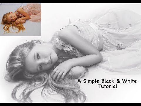 A Simple Black and White Photoshop Tutorial thumbnail