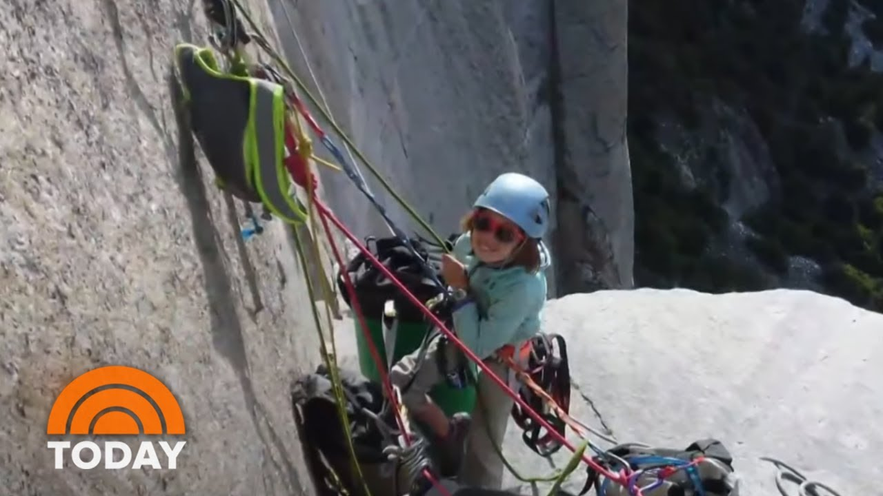 Emily Harrington achieves climbing first at Yosemite's El Capitan