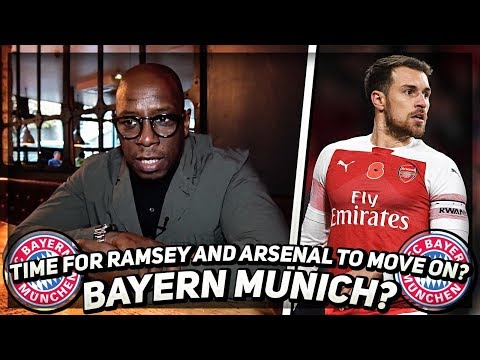 Ian Wright Gives His Opinion On The Aaron Ramsey To Bayern Munich Rumours!