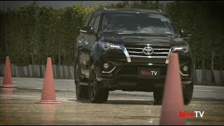 Test Drive TOYOTA Fortuner TRD Sportivo By MaxTV / 2 July 2016