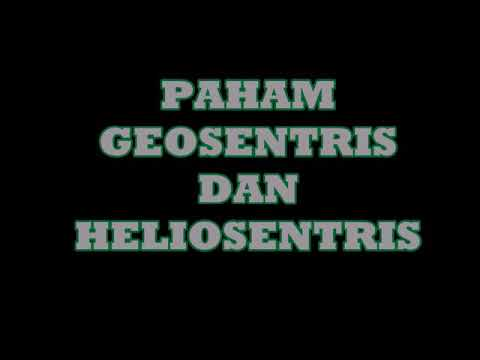 Geosentris dan Heliosentris