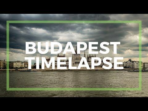 Budapest Timelapse - Danube - Parliament - Fisherman's Bastion