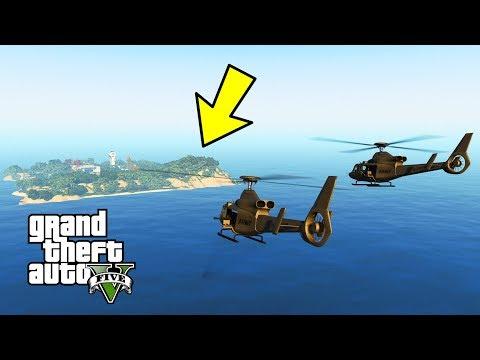 "GTA 5 - Military ARMY Patrol Episode #49 - ESCAPE ALCATRAZ ISLAND! ""The Rock"" BEACH LANDING"