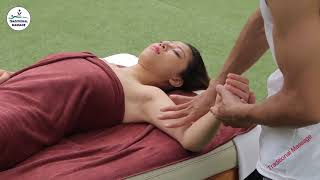 ASMR Indian Beautiful Girl Full Body Massage Techniques