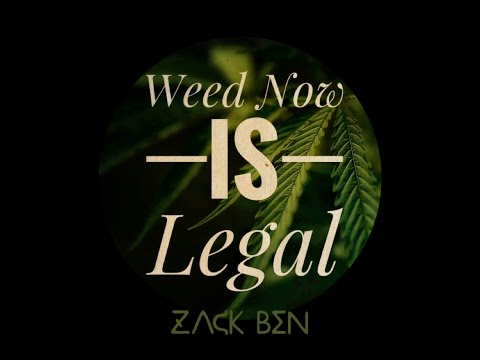 Weed Now Is Legal - Zack Ben (Official Video) NEW 2016