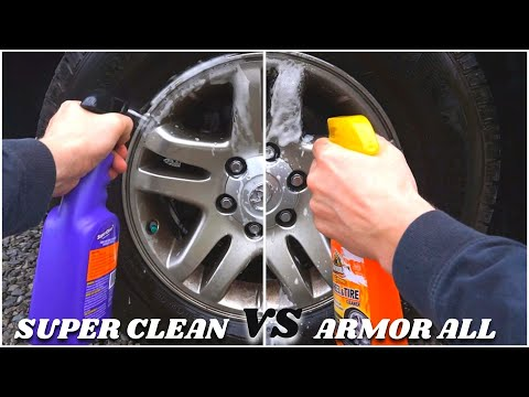 Super Clean vs. Armor All Extreme Wheel Cleaner