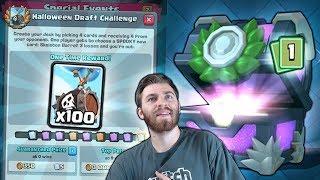 "NEW CARD ""SKELETON BARREL"" CHALLENGE & CLUTCH LEGENDARY! |  Clash Royale | NEW CARD RELEASE"