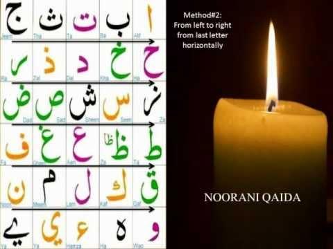 Noorani Qaida Lesson 1