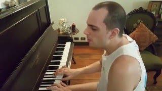 Phil Collins - I Wish It Would Rain Down (piano)