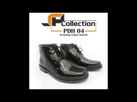 Baru !! Sepatu Boots Pria -  Sepatu Formal Pria Terbaru 2018 [PDH 04 Sintetis]