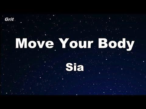 Move Your Body - Sia Karaoke 【No Guide Melody】 Instrumental