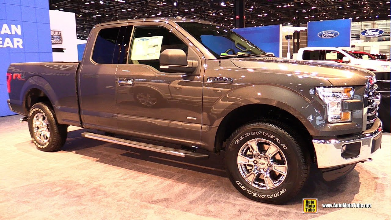 2015 ford f150 xlt supercab 3 5l v6 ecoboost exterior interior walkaround 2015 chicago auto. Black Bedroom Furniture Sets. Home Design Ideas
