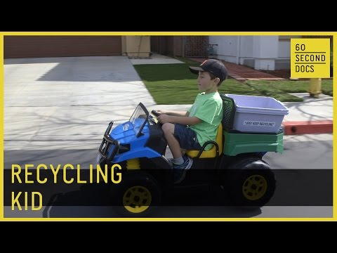 Ryan's Recycling | Kid Entrepreneur // 60 Second Docs