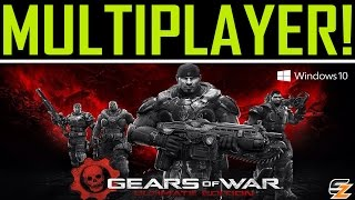 Gears of War Ultimate Edition PC - FIRST ONLINE MATCH! (Multiplayer Gameplay)
